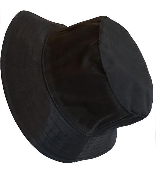 Chapéu Bucket Hat Cata Ovo Preto- Unissex