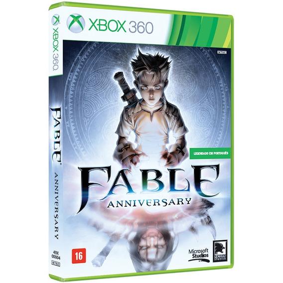 Fable Anniversary Xbox 360 Mídia Física Lacrado Em Português