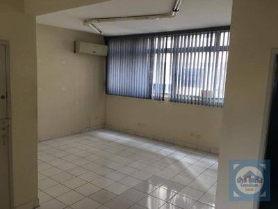 Sala Para Alugar, 55 M² Por R$ 1.100/mês - Centro - Santos/sp - Sa0092
