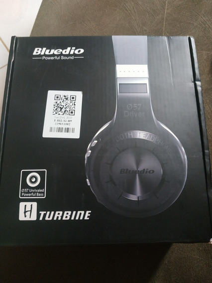 Fone Bluetooth Bluedio H Turbine