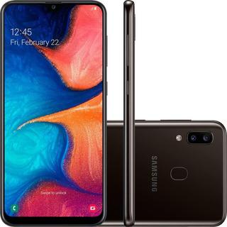 Smartphone Samsung Galaxy A20 6.4 3gb Preto - A205g