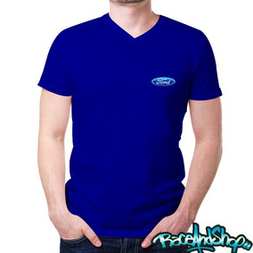 Playera Basic Cuello V Dryfit Envio Gratis!! Ford 2