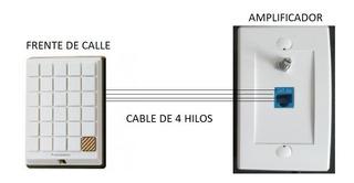 Amplificador Para Portero/ Frente De Calle (panasonic)