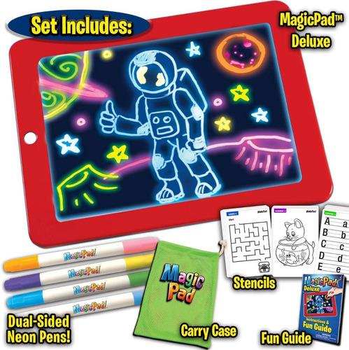 Ontel Magic Pad Tableta De Dibujo Con Luz Led