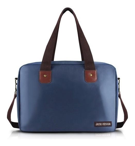 Bolsa Para Viagem Academia Coleção Essencial Azul Escuro