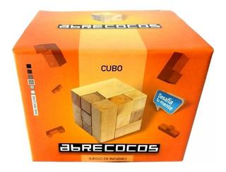 Abrecocos Juego De Ingenio Madera Cubo
