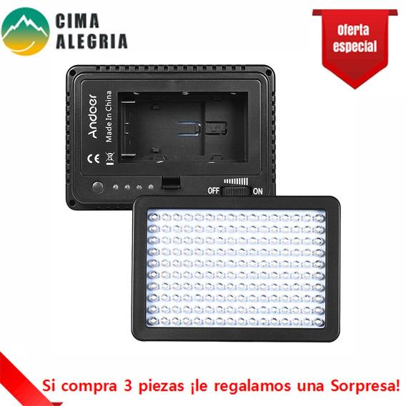 Niko 160 Led Camera Camera Lamp 10.5w Dimmable 5600k Com 460