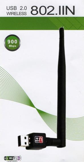 Adaptador Wi-fi Usb 2.0 900mbs