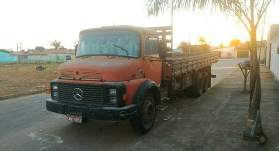 Mb 1113 Truck Turbinado Motor Zero Carroceria Trucado