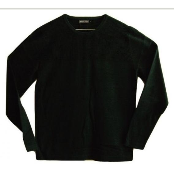 Suéter Broken Rules Verde Escuro 924 Masculino Frio Inverno