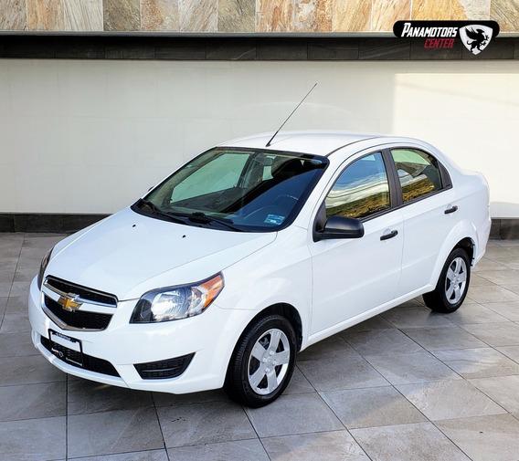 Chevrolet Aveo Ls, Ta, A/ac., Tela, R-14, Blanco, 2018