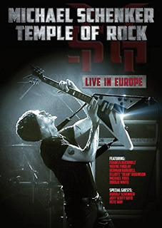 Dvd : Michael Schenker - Temple Of Rock: Live In Europe ...