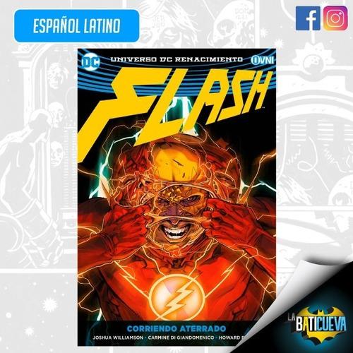 Imagen 1 de 2 de Comic Flash Vol 4 Rebirth Corriendo Aterrado Dc Comics