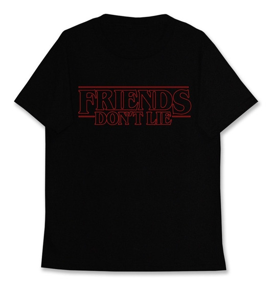 Remera Stranger Things Friends Don