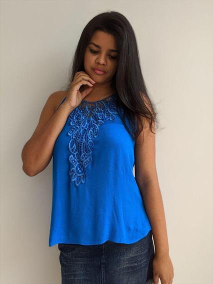 Blusa Feminina Fashion Azul