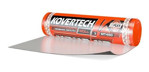 Membrana Asfáltica Con Aluminio   Kovertech Roll   40kg 10m2