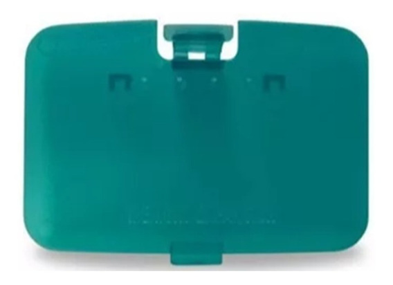 Tampa Do Expansor De Memória Do Nintendo 64 Anis - Azul
