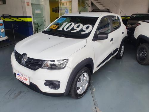 Renault Kwid 2021 Uber 99 Financiamento Sem Entrada