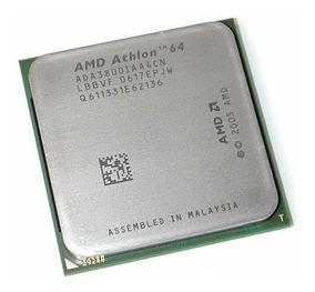 Cpu Processador Amd Athlon 64 3800+ 2.4 Ghz - Soquete Am2