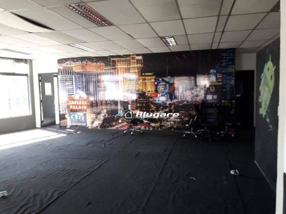 Salão Comercial Para Locação, Centro, Guarulhos. - Sl0032