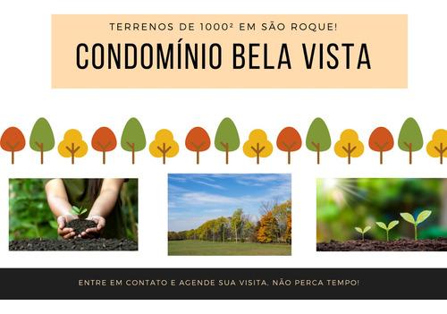 Imagem 1 de 14 de Os Melhores Terrenos Na Cidade De São Roque