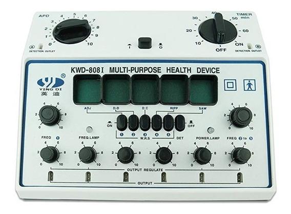 Electroestimulador Acupuntura Kwd-8081 6 Salidas 5frecuencia