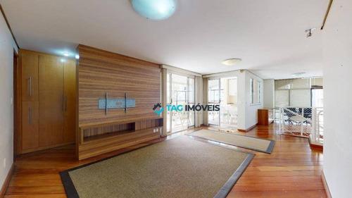 Cobertura Com 3 Dormitórios À Venda, 162 M² Por R$ 1.600.000,00 - Brooklin - São Paulo/sp - Co0057