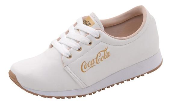 Tenis Feminino Coca Cola Caminhada Corrida Inverno 34 Ao 39