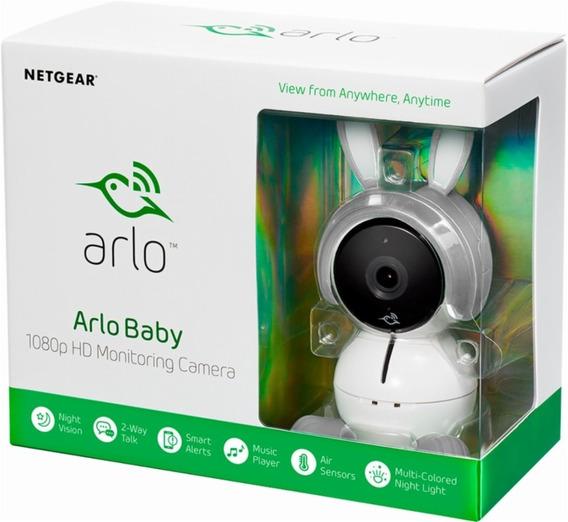 Babá Eletrônica Arlo Baby By Netgear Smart Hd Wifi Audio