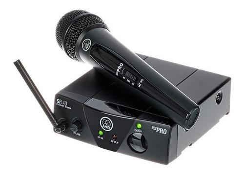 Micrófono Inalambrico Akg Wms 40 Mano