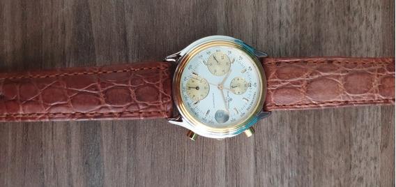Relógio Suíço Automático Baume Et Mercier Transatlantic