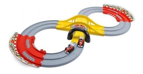 Imagen 1 de 5 de Chicco Pista De Carreras  3 En 1 009690 Ferrari E.full