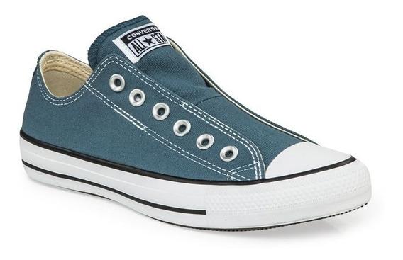 Zapatillas Converse Ctas Slip 166672c Naranjaj 166673c Azul
