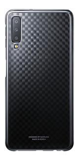 Capa Celular Protetora Samsung Galaxy A7 Degradê Cover Preto