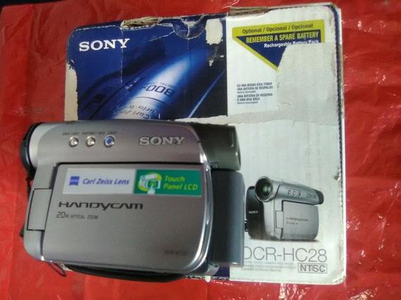 Video Camara Digital Sony Dcr-hc28 Como Nueva