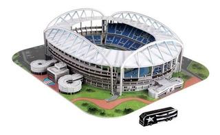 Novo Mini Estadio Do Botafogo Maquete Oficial Engenhão 3d