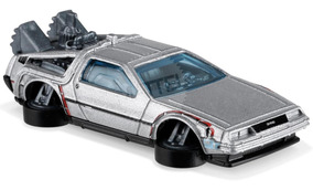 Hot Wheels - Back To The Future Time Machine - Hover Mode -