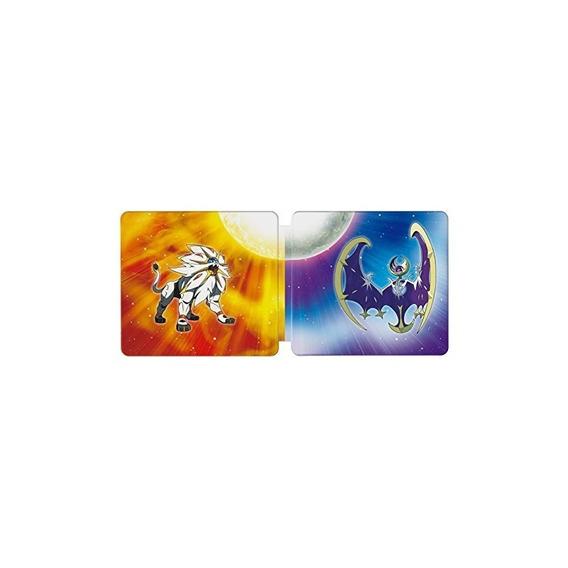 Pokémon Sun Y Pokémon Moon Steelbook Dual Pack - Nintendo 3d