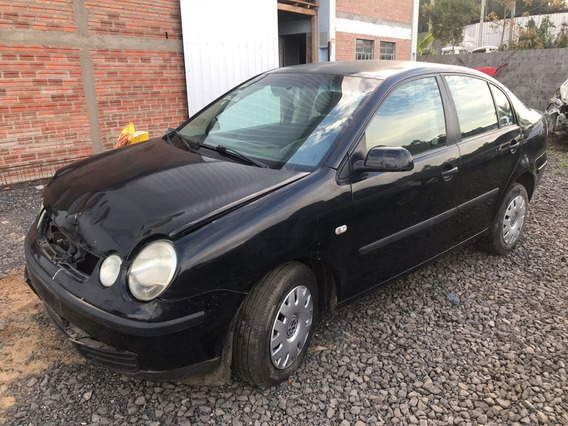 Sucata Volkswagen Polo 1.6 100cvs Gasolina 2004 Rs Cai Peças
