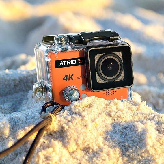 Câmera Esportiva Atrio 4k Mergulho Filma Pro Wifi