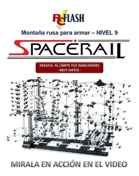 Montaña Rusa Spacerail Nivel 9 De 70 Mts Anti Playstation
