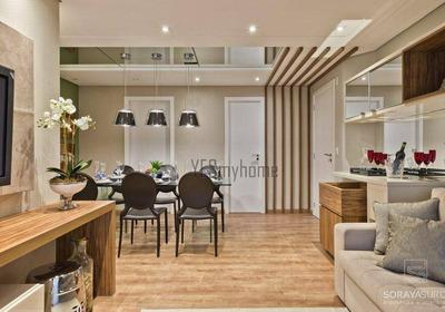 Cobertura Com 3 Dormitórios Sendo 1 Suíte Com 3 Vagas À Venda, 173 M² Por R$ 1.350.000 - Ahú - Curitiba/pr - Co0242