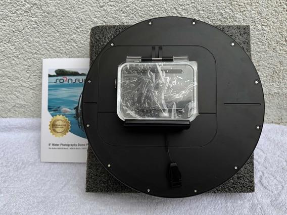 Dome Para Gopro Hero 5/6/7 Black (produto Novo)