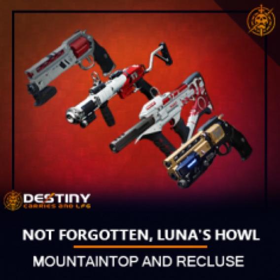 Destiny 2- Forgotten, Luna, E Topo Pc, Xbox One.