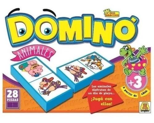 Juego De Mesa Domino Animales Implas Im8