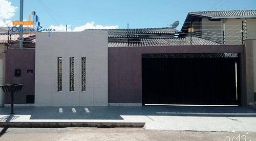 Casa Com 3 Dormitórios À Venda, 140 M² Por R$ 325.000,00 - Residencial Ayrton Senna - Anápolis/go - Ca0661