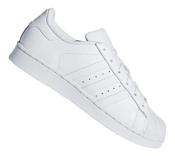 Tênis adidas Originals Superstar Foundation Branco Original