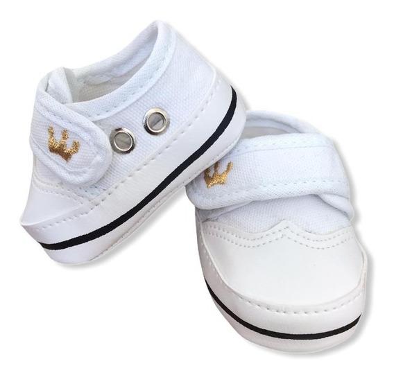 Sapato De Batismo Bebe Menino Tenis De Bebe Batizado