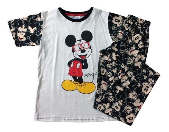 Pijama Mickey Mouse De Disney Oficiales Para Teen