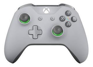 Joystick inalámbrico Microsoft Xbox One grey/green